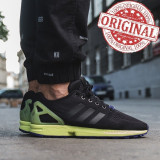 Adidas Originals ZX Flux Lime COD: AF6318 - Produs original - NEW COLLECTION!