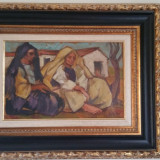 Iosif Iser-Odalisca - Pictor roman, Scene gen, Ulei, Altul