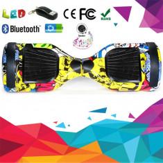 HOVERBOARD 2017 Bluetooth Telecomanda Leduri Difuzoare Balance Scooter Electric
