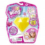 Set de creatie Color Bling Diamant - Decoreaza orice obiect personal Galben