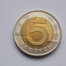 5 ZLOTI 1994 POLONIA, Europa