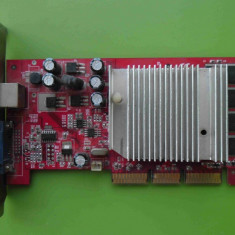 Placa Video Palit GeForce FX5200 128MB AGP - DEFECTA - Placa video PC Palit, nVidia