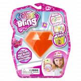 Set de creatie Color Bling Diamant - Decoreaza orice obiect personal Portocaliu