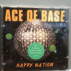 ACE OF BASE - HAPPY NATION (1993/METRONOME rec/GERMANY) - CD ORIGINAL - Muzica Pop universal records