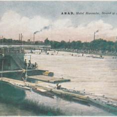 ARAD MALUL MURESULUI STRAND SI REGATA EDITIA MEMCO ARAD CIRCULATA 1926 - Carte Postala Crisana dupa 1918, Printata