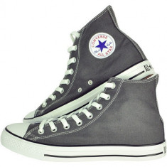 Bascheti Converse ALL STAR - Gri - Tenisi barbati Chuck Taylor, Marime: 36, 37, 38, 39, 40, 41, 42, 43, 44, Textil