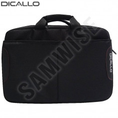 *** NOU *** PROMOTIE ***Geanta Dicallo, Laptop, Notebook 15.6 inch LLM0316 Black