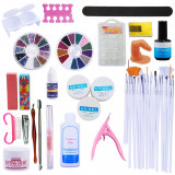 KIT UNGHII FALSE GEL,SET MANICHIURA,PILA GRANULATIE ,BUFFER