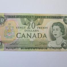 Canada 20 Dollars 1979 - bancnota america