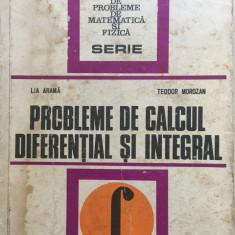 PROBLEME DE CALCUL DIFERENTIAL SI INTEGRAL - Arama, Morozan - Culegere Matematica