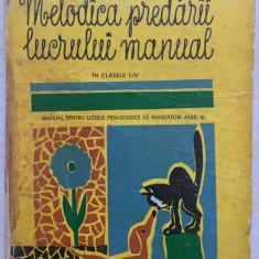 METODICA PREDARII LUCRULUI MANUAL IN CLASELE I-IV - Serdeanu, Dituleasa