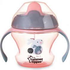Cana Explora First Trainer 150 ml Cloned Roz - Cana bebelusi Tommee Tippee