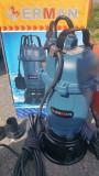Pompa pentru HAZNA apa Murdara Erman 550W 15000 l/min
