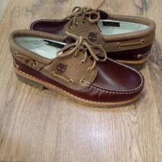 Pantofi barbat TIMBERLAND originali noi piele integral 40/41/43/43.5/44 - Mocasini barbati Timberland, Marime: 44.5, Culoare: Maro