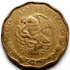 MEXIC, 50 CENTAVOS 1998, POLIGONALA ! LARGE TYPE !, America Centrala si de Sud, Bronz
