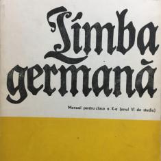 LIMBA GERMANA MANUAL PENTRU CLASA A X-A - Ilse Muller, Hans Muller - Manual scolar, Clasa 10, Limbi straine