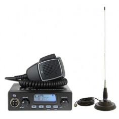 Kit Statie radio CB TTi TCB-550 + Antena PNI ML145 cu magnet TTI-PACK17