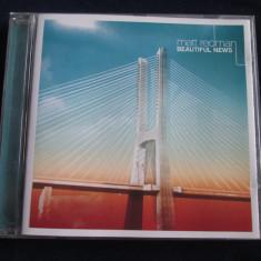 Matt Redman - Beautiful News _ cd, album _ original Survivor(Olanda) _ pop rock - Muzica Pop Altele
