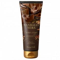 Vanilie neagra - Crema de corp cu extract de vanilie si unt d... - Bottega Verde