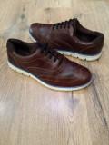 Pantofi barbat TIMBERLAND Earth keepers Sensorflex originali piele sz.42, Coniac, Piele naturala