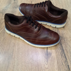 Pantofi barbat TIMBERLAND Earth keepers Sensorflex originali piele sz.42, Culoare: Coniac, Piele naturala, Casual