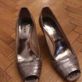-40% reducere Pantofi decupati piele naturala 100% autentici - 87 lei