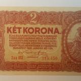 Bancnota ungaria - 2 coroane 1920 - scrie in romana 215450, Europa