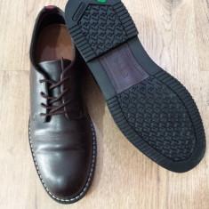 Pantofi barbat TIMBERLAND anti fatigue piele foarte comozi sz.40 !, Culoare: Coffee, Piele naturala, Casual