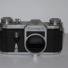 Contax D - Body - Made in Germany - 1952-54 - Transport gratuit prin posta! - Aparat Foto cu Film Yashica