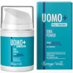 UOMO + Hydra Power - Crema hidratanta protectoare cu Lipomois... - Bottega Verde