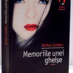 MEMORIILE UNEI GHEISE de ARTHUR GOLDEN, 2006 - Carte in alte limbi straine