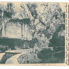 3248 - Litho, ORSOVA, Kazan - old postcard - used - 1901 - Carte Postala Oltenia pana la 1904, Circulata, Printata