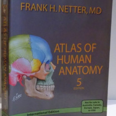 ATLAS OF HUMAN ANATOMY by FRANK H. NETTER, FIFTH EDITION, 2011
