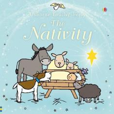 TOUCHY FEELY NATIVITY - Usborne book