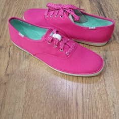 Tenisi dama KEDS originali noi tesut roz intens Sz.40, 5 !, Culoare: Fuchsia, Textil