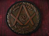 MEDALIE / PLACHETĂ VECHE ANIVERSARĂ - CCSITEH TIMIȘOARA - 20 DE ANI 1966 - 1986!