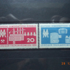 1959 Germania ( RDG ) Mi 678 - 679 Serie completa. - Timbre straine, Nestampilat