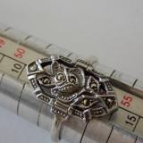 Inel argint cu marcasite -2057