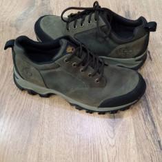 Pantofi sport barbat TIMBERLAND originali noi piele waterproof sz.43 ! - Pantofi barbat Timberland, Culoare: Khaki, Piele naturala
