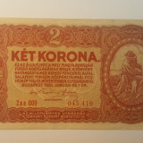 Bancnota ungaria - 2 coroane 1920 - scrie in romana 045410, Europa