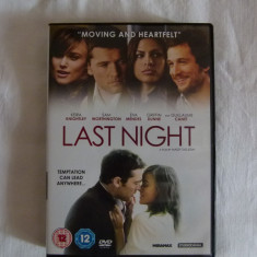 Last night - dvd - Film drama Altele, Engleza