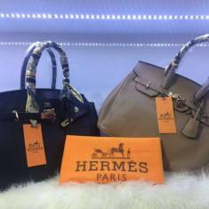 GENTI HERMES/FRANCE/CALITATE SUPERIOARA/ACCESORII METALICE - Geanta Dama Hermes, Culoare: Negru, Marime: Mare