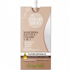 Color Brio - Masca iluminatoare 3 in 1 cu casmir si ulei de a... - Bottega Verde - Vopsea de par