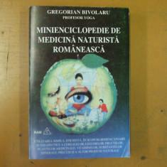 Miniencicloepdie de medicina naturista romaneasca G. Bivolaru