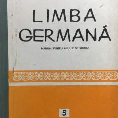 LIMBA GERMANA MANUAL PENTRU ANUL V DE STUDIU - Alexandrescu, Cosmatu, Lazarescu - Curs Limba Germana