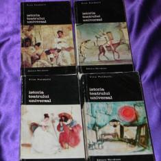 Istoria teatrului universal vol 1-4 Vito Pandolfi (f0570