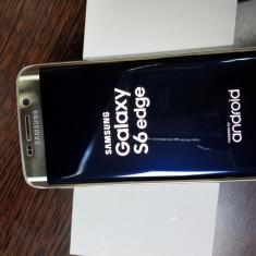 Samsung galaxy s6 edge 32 GB-gold-vodafone - Telefon Samsung, Auriu