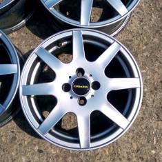 JANTE AEZ 15 4X100 LOGAN RENAULT VW OPEL SI ALTELE - Janta aliaj, 6, 5, Numar prezoane: 4