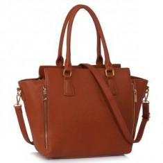 L&S Fashion LS00314A geanta pe umar maro naturale - Geanta Dama, Geanta de umar