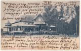 #2056- Romania, Szatmar, Satu Mare, c.p. circulata 1904: Chiosc orasanesc, Fotografie